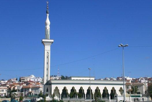 Mezquita siria de Tánger
