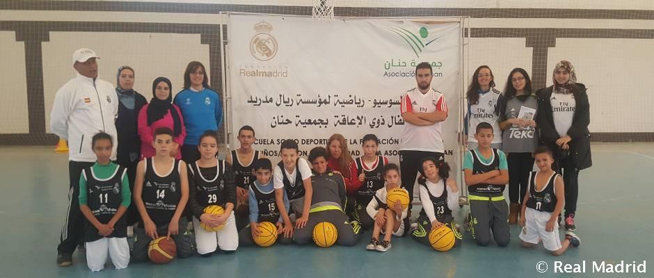 real madrid baloncesto tetuán
