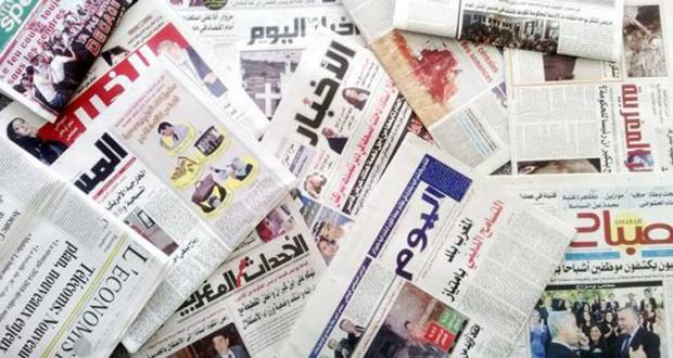 cabeceras de prensa marruecos