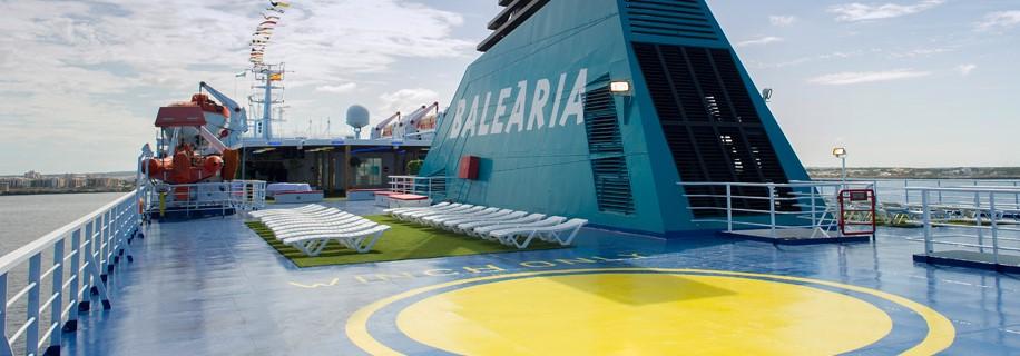 buque balearia ciudad de denia linea málaga-tánger