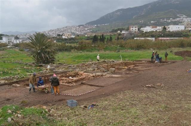 yacimiento arqueólogico Tamuda, Marruecos