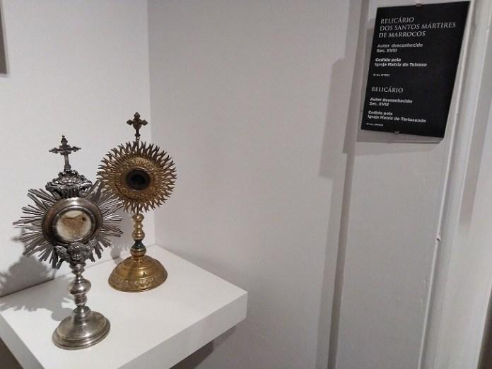 relicario santos martires de marruecos, covilha
