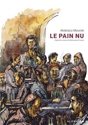 portada comic 'El pan a secas' de Mohamed Chukri
