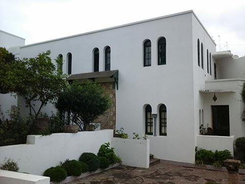 Fachada Casa Poesía Tetuán