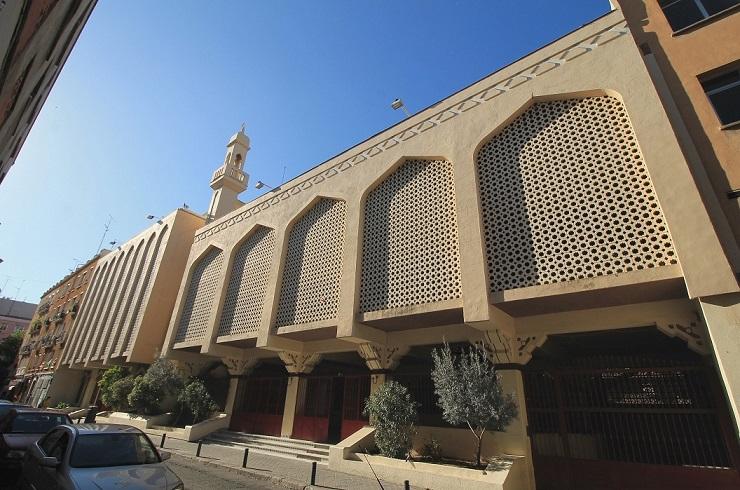 mezquita barrio Tetuán de Madrid