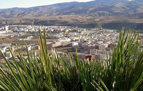 Vista de Targuist, en la región de Alhucemas