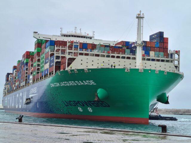 buque contenedores Jacques Saade
