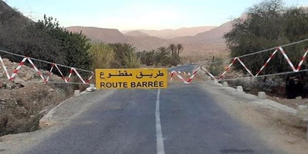 carretera cortada Chauen-Tetuán