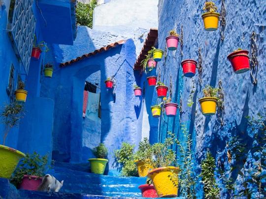 Chauen, Colores