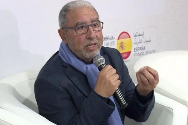 el poeta Mohamed Achaari