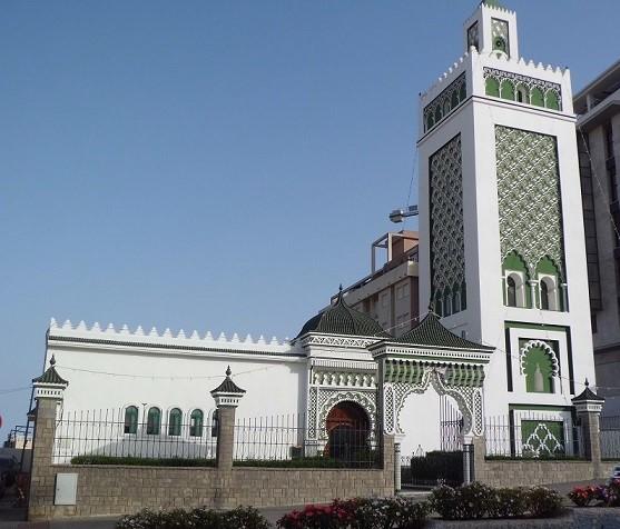 fachada mezquita Muley El Mehdi de Ceuta