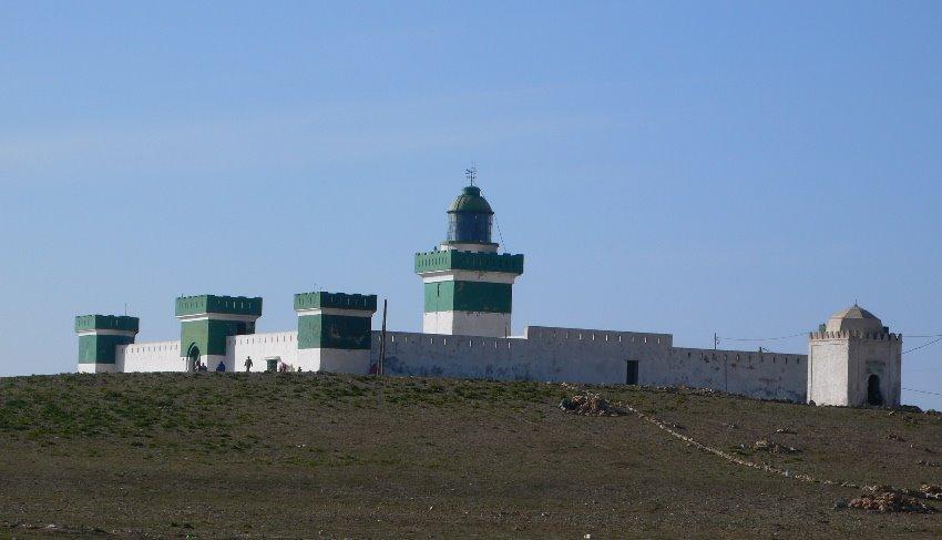 vista general del Faro de Cabo Beddouza