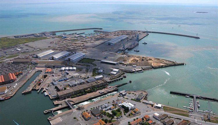 Vista puerto Nador West Med