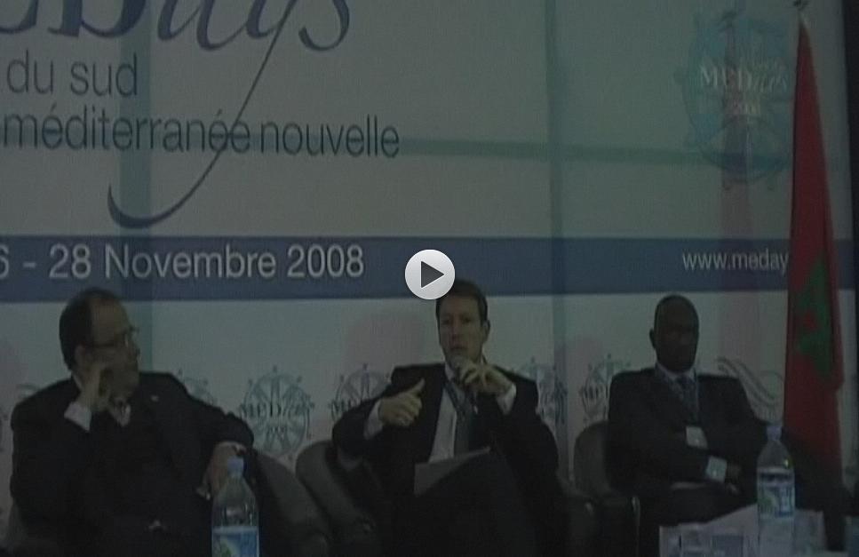Marc Richir, del área de Relaciones Exteriores de la Comisión Europea