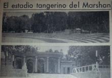 Estadio Márchan, una de las obras del Tánger Internacional