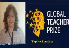 Una profesora marroquí finalista en el Premio Global Maestro