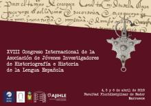 Cartel Congreso historia y lengua española en Nador