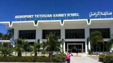 fachada aeropuerto Tetuán Saniat Ramel