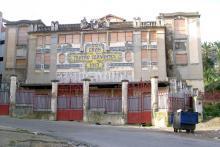 Fachada gran teatro Cervantes Tánger