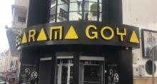 fachada cine megaramaGoya en Tánger