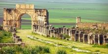 ruinas romanas de Volubilis, Marruecos