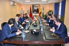 encuentro responsables gobiernos regionales Tánger-Tetuán con Andalucia