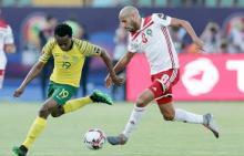 lance del partido Marruecos-Sudáfrica