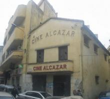 Fachada histórico cine Alcázar de Tánger