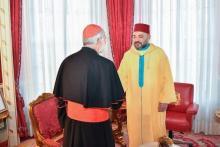 Audiencia del rey Mohamed VI al cardenal arzobispo de Rabat