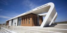 fachada nueva estación autobuses Arcila-Asilah