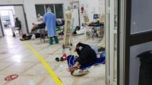 sala hospital mohamed V de Tánger saturada por coronavirus