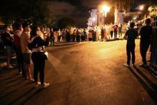 protestas sanitarios en Tánger