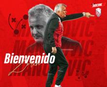 cartel bienvenida MAT a Zoran Malojnovic