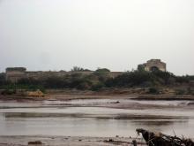 vista de los restos del Palacio Dar Es Sultan en Esauira