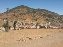 vista de Bni Rzine, cerca de  Chauen