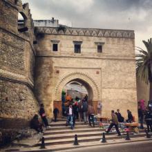 puerta Bab El Oqla, medina de Tetuán