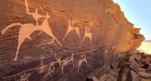 grabados rupestres Zegzel, provincia Berkane