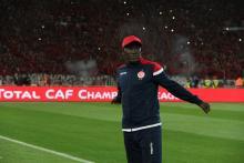Moussa Ndao en el campo