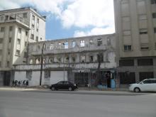 fachada hotel cecil en ruinas