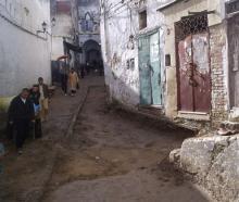 Inicio de un Skondo en la medina de Tetuán