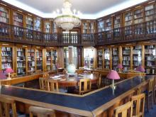 interior biblioteca Sao Lazaro, Arroios en Lisboa