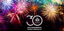 Cartel 30 años Institutos Cervantes España-Marruecos