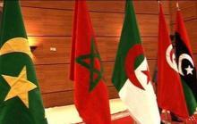 Banderas de los países de la Unión del Magreb Árabe
