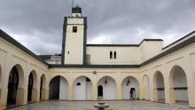 patio interior Gran Mezquita Uezán