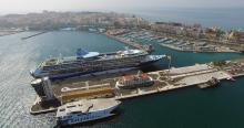 vista puerto Ceuta
