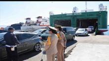 Llegada inmigrantes a puerto marroquí