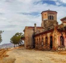 Palacio del Jalifa en estado de abandono en Tetuán