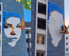 mural de Leila Alaoui objeto de polémica en Tánger
