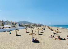 vista playa Oued Laou