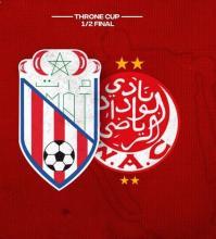 escudos MAT y WAC anuncio semifinal Copa del Trono